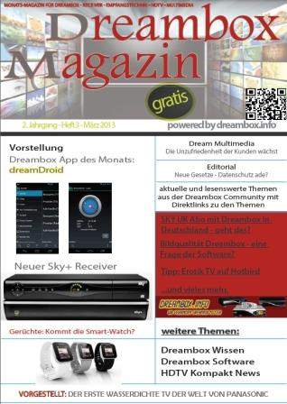 Dreambox Magazin M�rz 2013